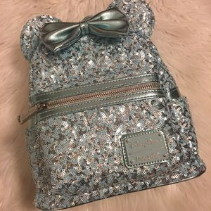 Disney Loungefly Sequin Backpack